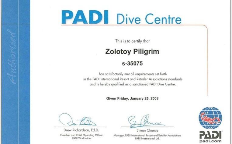 PADI Dive Centre